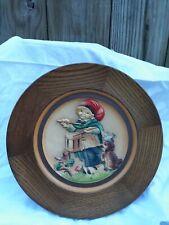 "Juan Ferrandiz 1979 ""Drummer"" Vintage Wooden Plate Handcrafted By Anri No 3621"