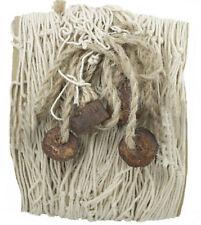 Fischernetz mit 4 Schwimmern,naturfarben 1,5 x 1 m Baumwolle Maritime Dekoration