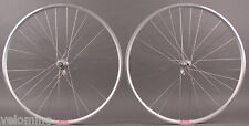 Velocity A23 Silver Rims Road Bike Wheelset 32h Fits Campagnolo 9 10 11 Speed
