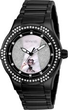 Invicta 25679 Character Collection Women's 39.5mm Black-Tone Steel Crystal Watch