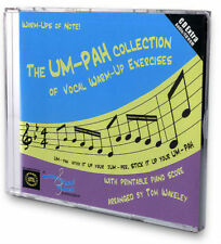 UM-PAH COLLECTION of VOCAL WARM-UP SINGING EXERCISES CD + Printable Piano Score