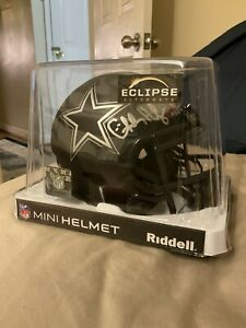 Charles Haley Autographed Cowboys Eclipse Replica Football Helmet Certified