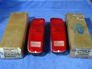 1973-1984 Ford Truck Bronco Econoline Van Tail Lamps NOS