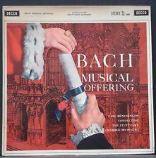 DECCA SXL 2204 WBg ED 1 AUS PRES BACH MUSICAL OFFERING MUNCHINGER STUTTGART C.O.