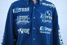 Mens Pbr Bull Riding Sponsor Shirt Pro Rodeo Chad Denton Prca Wrangler Nfr Rare!