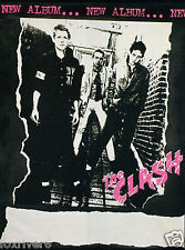 THE CLASH White Riot Tour 'Debut LP' Colour Handbill / Window Poster - reprint