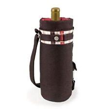 Picnic Time Wine Sack Moka Insulated Wine Duffel