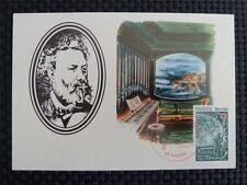FRANCE MK 1982 JULES VERNE SUBMARINE OCTOPUS MAXIMUMKARTE MAXIMUM CARD MC c1109
