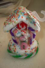 """CANDY HOUSE ORNAMENT 4 1/4"""""""