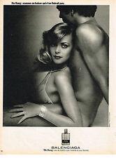 PUBLICITE  1976   BALENCIAGA    parfum HO HANG