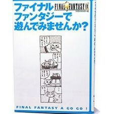 Final Fantasy 9 de Asonde Mimasenka? Starter guide book / PS
