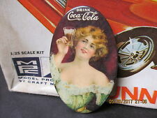 1907 COCA COLA COKE POCKET CELLULOID ADVERTISING MIRROR BASTIAN BROS ORIGINAL NM