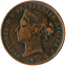 More details for 1894 queen victoria states of jersey twelfth of a shilling coin  #wt3225