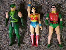 Super Powers Green Arrow Action Figure 1985 plus Vintage Wonder Woman & Robin