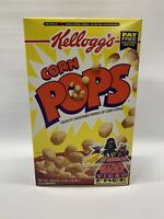 SEALED FULL! ~ 1996 Kellogg's Star Wars Corn Pops Cereal Box Making Of Star Wars