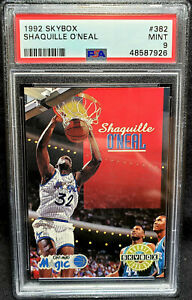 Shaquille O'neal RC 1992 Skybox #382 PSA 9 Mint HOF Shaq Magic Rookie 1992-93