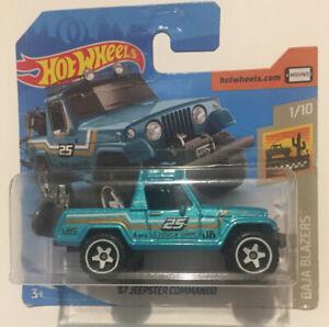 Hot Wheels - '67 Jeepster Commando 1/10 Baja Blazers 2020 [Boxed Shipment]