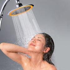 Adjustable Round High Pressure Rainfall Rain Top Shower Head Bathroom Sprayer