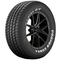 4-P225/70R14 Cooper Cobra Radial G/T 98T RWL Tires