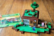 LEGO Set Minecraft The First Night 21115 Minifig Steve Pig Like NEW
