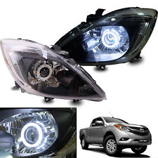 NEW Projector Headlight Lamp For 2012-16 Mazda Facelift BT-50 Pickup Ute - Pair