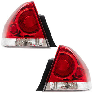 Tail Lights Set fits 06-13 Chevrolet Impala 14-16 Impala Limited Pair Taillamps