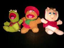 Muppets 1980s Plushes Lot Vintage