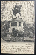 1907 Ecuador Real Picture Postcard cover To Brooklyn NY USA Bolivar Monument