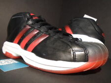 2001 ADIDAS PRO MODEL 2G BLACK TORO RED WHITE KOBE TMAC SUPERSTAR 677671 11.5