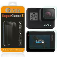 Tempered Glass Screen Protector + Lens Cover Shield Guard For GoPro Hero7 6 5
