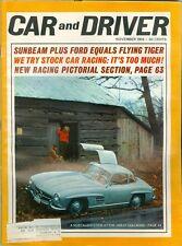 1964 Car & Driver Magazine: Gullwing/Stock Car Racing/Racing Pictorial