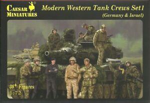 Caesar Miniatures 1/72 Modern Western Tank Crews Set 1 (Germany & Israel)