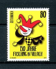 Austria 2017 MNH Carnival in Villach 150th Anniv 1v Set Cultures Stamps