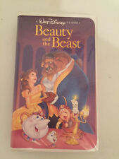 Walt Disney's Beauty and The Beast VHS 1992 Black Diamond Classic - today $1299