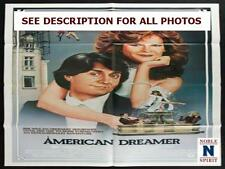 "NobleSpirit NO RESERVE Original 1984 American Dreamer 27x41"" Movie Poster"