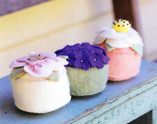 PATTERN - Posy Pin Cushion - fabulous felt pincushions PATTERN - May Blossom