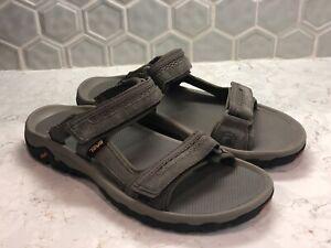 Teva Men's Hudson Gray Sandals Size 10