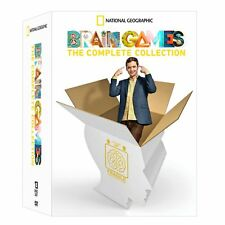 Brain Games: The Complete Collection Series Seasons 1 2 3 4 5 6 7 Boxed DVD Set