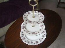 N26 Royal Albert Sweet Violets 3 plate Afternoon Tea Stand Parkinsons UK