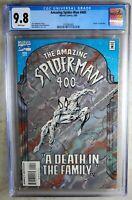 """Amazing Spider-Man #400 """"Death"""" Aunt May Marvel 1995 CGC 9.8 NM/MT Comic M0096"""