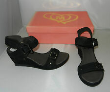 Mam'Zelle Shoes Style Obien in Ranch Noir Size 37 - NEW - W627a