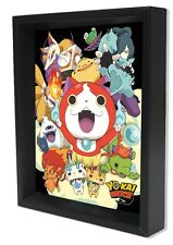 YO-KAI WATCH-CAST 8x10 3D SHADOWBOX YOUKAI WATCH JAPAN ROLE PLAY VIDEO GAMES!!!!