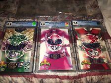 Mighty Morphin Power Rangers Boom Studios 9.8 Green Pink Red Ranger #0