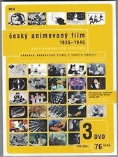 Czech animated film 1925-1945 Jiri Brdecka,Karel Zeman Set 3 DVD Engl.subt.