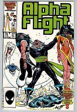 Alpha Flight #37 1986 (C5951) Marvel