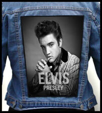 ELVIS PRESLEY   --- Giant Backpatch Back Patch