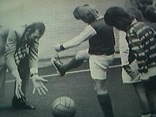 news item 1970 football arsenal goalkeeper bob wilson blue gate fields primary s