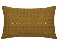 Studs Mustard Yellow Rectangle Cushion Cover 30x50cm AUS Seller & Stock