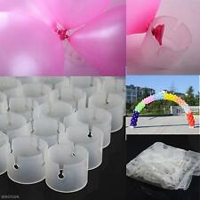50 Pcs/pack Wedding Party Decor Balloon Arch Folder Connectors Clip Ring Buckle