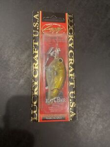 Discontinued Lucky Craft Flat CB MR AG Golden Shiner